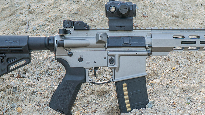 Sig Sauer M400 Elite rifle finish