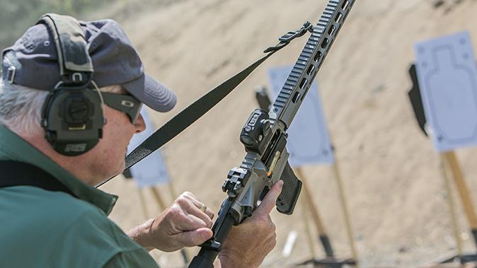 Sig Sauer M400 Elite rifle furniture