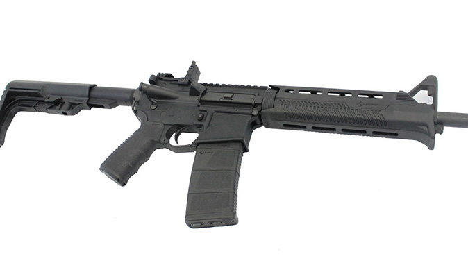 Stag 15 Minimalist rifle right angle
