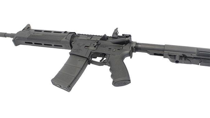 Stag 15L Minimalist rifle left angle