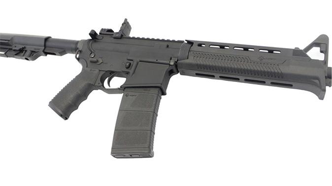 Stag 15L Minimalist rifle right angle