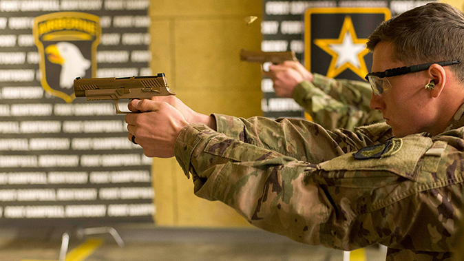 us army m17 pistol shooting test