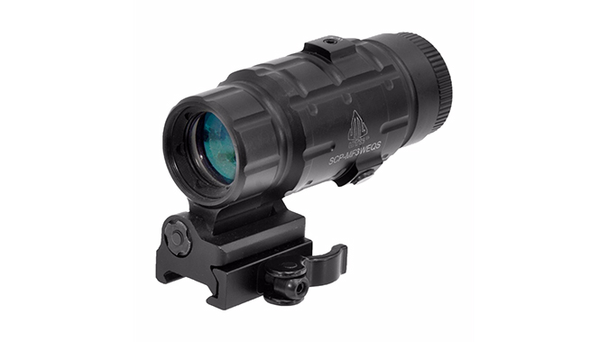 UTG 3X Magnifier With Flip-To-Side QD Mount budget AR