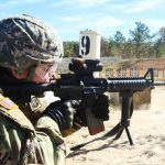 army m4 and m17 pistol