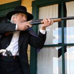 1878 Hartford Coach Gun gun test aim