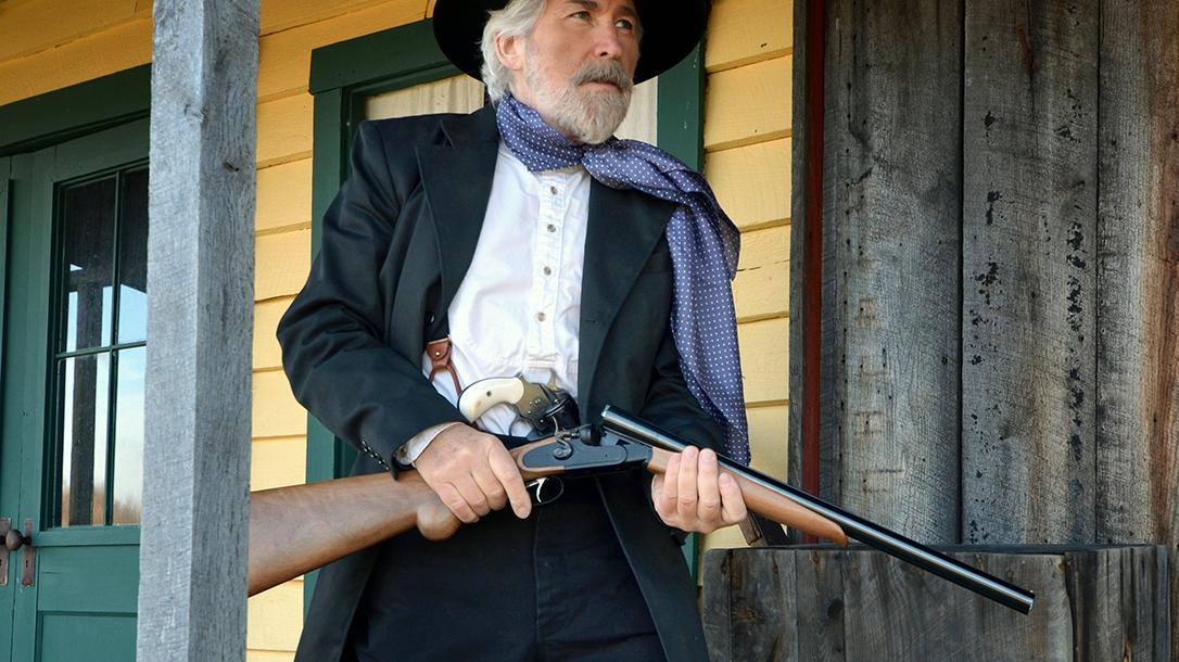 1878 Hartford Coach Gun gun test loading