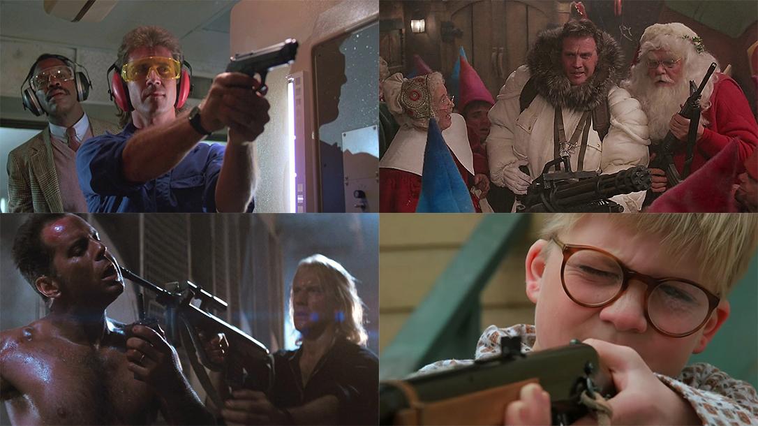 Gun-Filled Christmas Movies lead