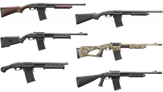 Remington 870 DM Detachable Magazine Shotgun Series rundown