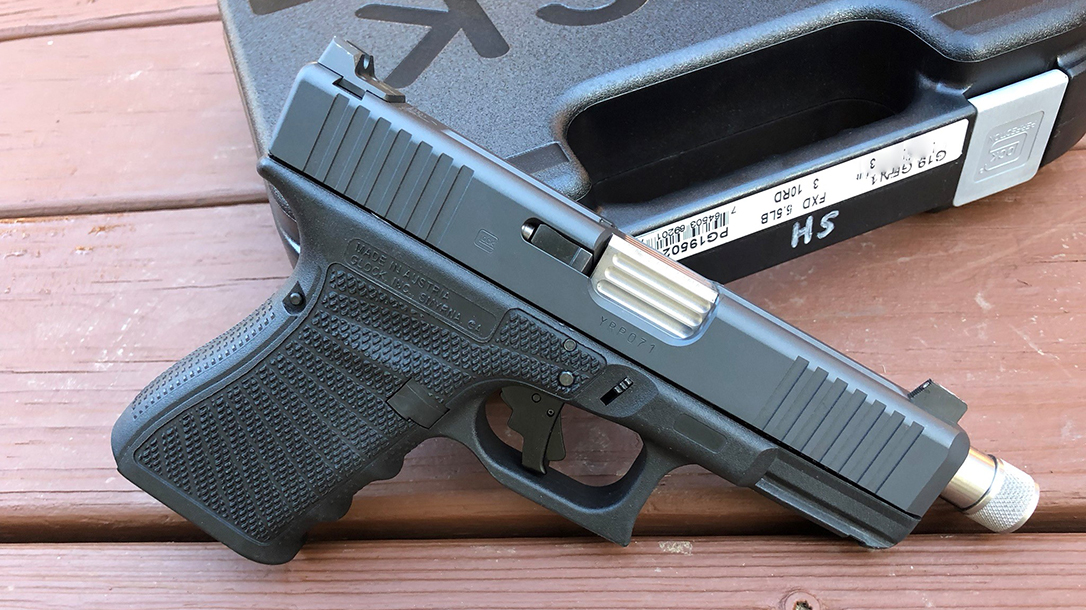 Custom Wilson Combat Glock 19 Gen4 pistol right