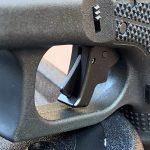 Custom Wilson Combat Glock 19 Gen4 pistol trigger
