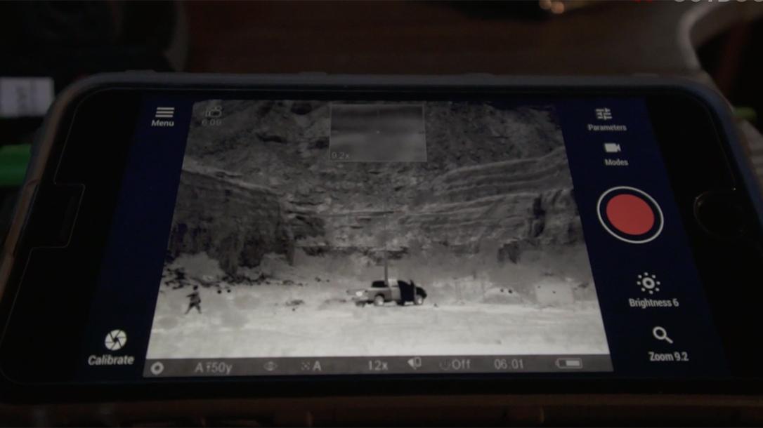 Pulsar Trail XP50 Thermal Imaging Sight Athlon Outdoors Rendezvous display