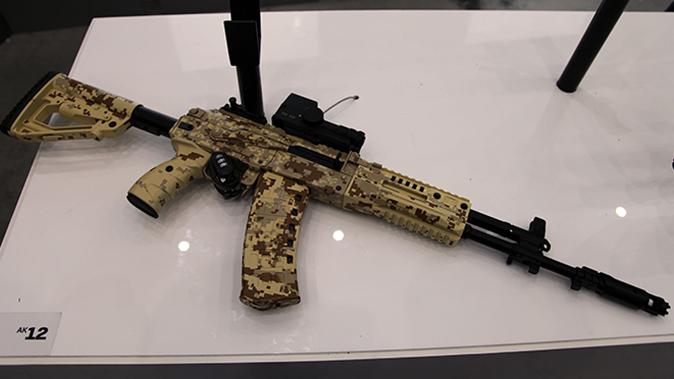 AK-12 RIFLE right angle
