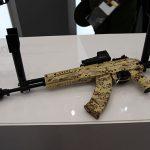 ak-12 AK-15 rifle left profile