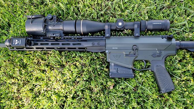 bill wilson ar hunting rifle closeup