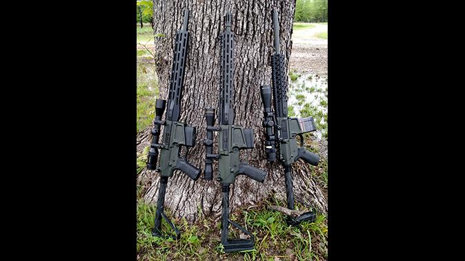bill wilson ar hunting rifles lined up