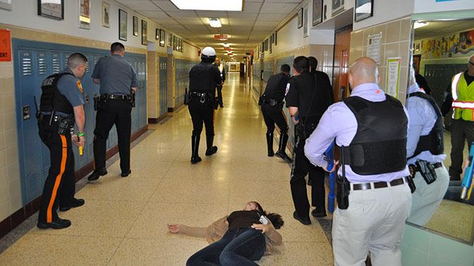 active shooter school