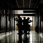 active shooter hallway school
