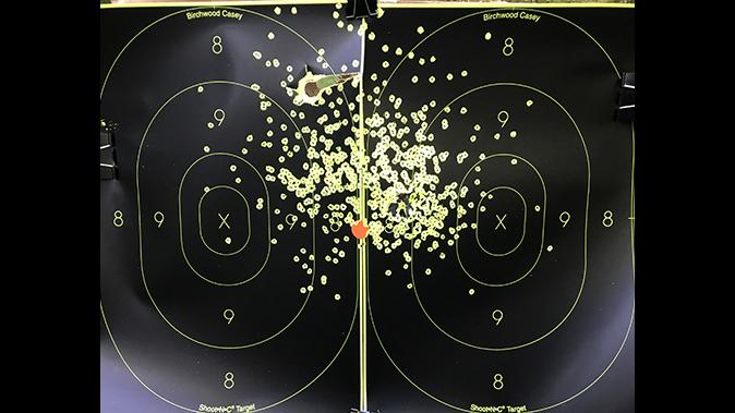 American Tactical Road Agent shotgun target