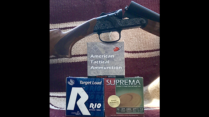American Tactical Road Agent shotgun ammo