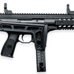 Beretta PMX submachine gun folded right profile