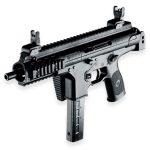 Beretta PMX submachine gun folded right angle