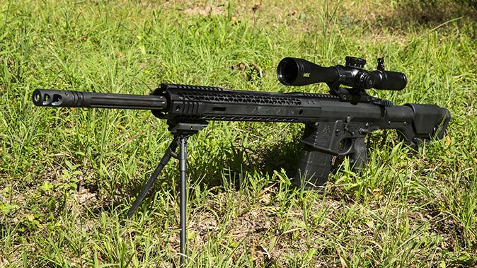 Black Rain Ordnance Predator rifle left angle