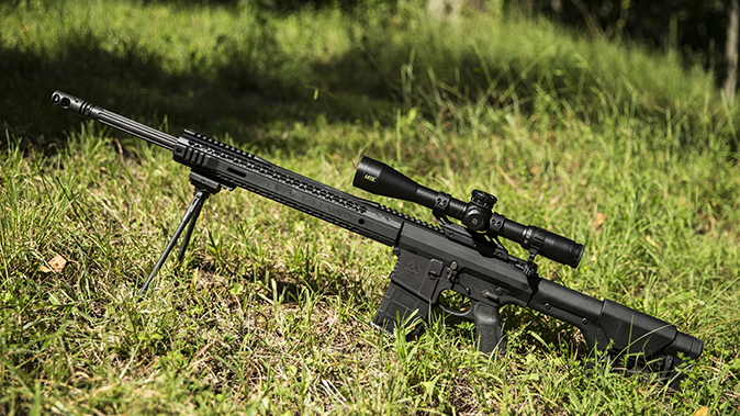 Black Rain Ordnance Predator rifle left profile