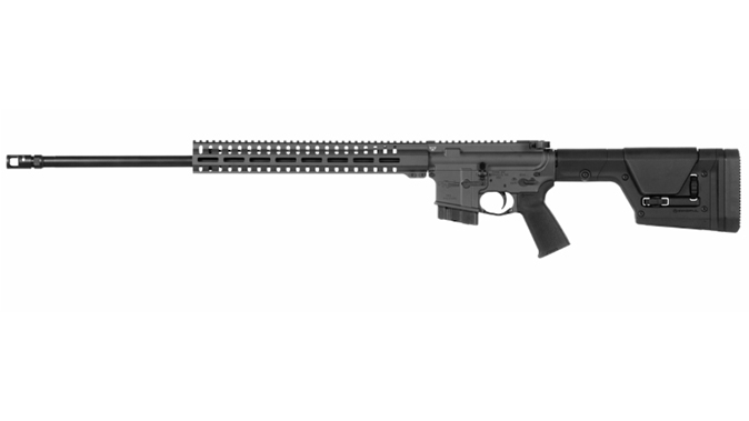 CMMG Mk4 DTR2 rifle left profile