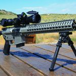 CMMG MkW-15 XFT2 rifle right angle