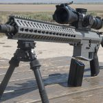 CMMG MkW-15 XFT2 rifle left angle