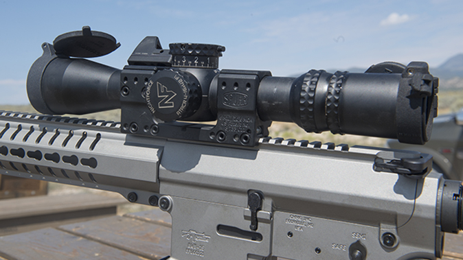 CMMG MkW-15 XFT2 rifle scope