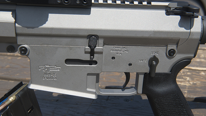 CMMG MkW-15 XFT2 rifle controls