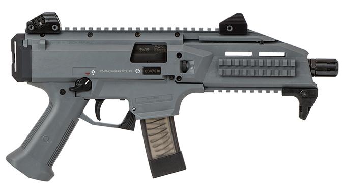 CZ Scorpion EVO 3 S1 Pistol Battleship Grey right profile