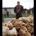 Camp Hansen CCU rock pile