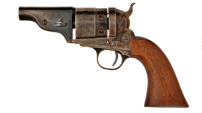 Colt Model 1860 Richards-Mason Cartridge Conversion belly guns