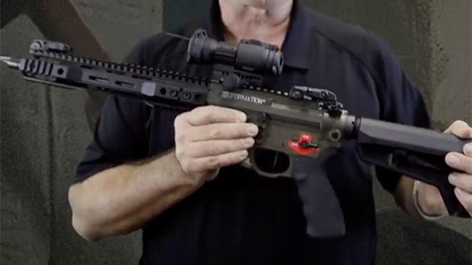 Franklin Armory Reformation firearm profile shot
