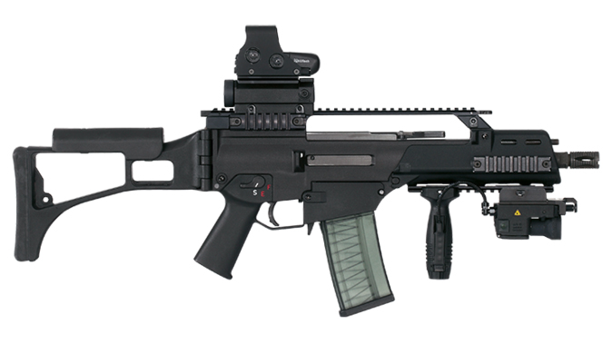HK G36KC rifle right profile
