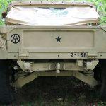 surplus humvee rear