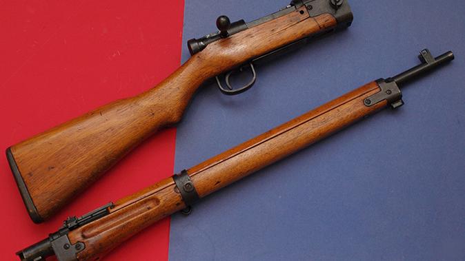 japanese battle rifles disassembled