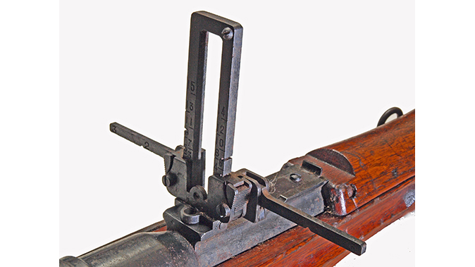 japanese battle rifles type 99 sights