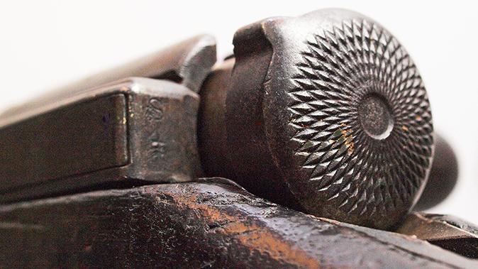 japanese battle rifles type 44 carbine safety knob