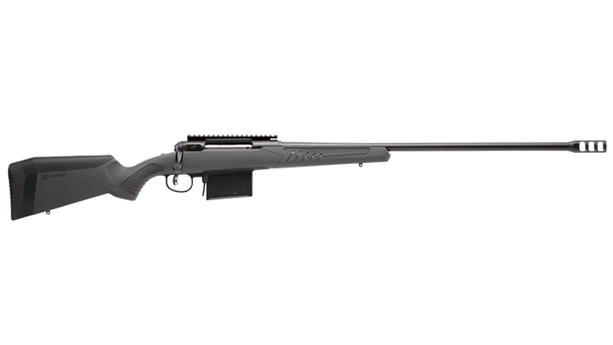 savage model 110 long range hunter 338 lap right profile