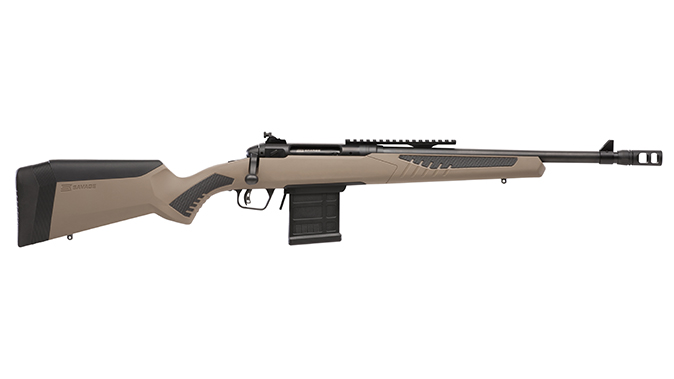 savage model 110 scout right profile