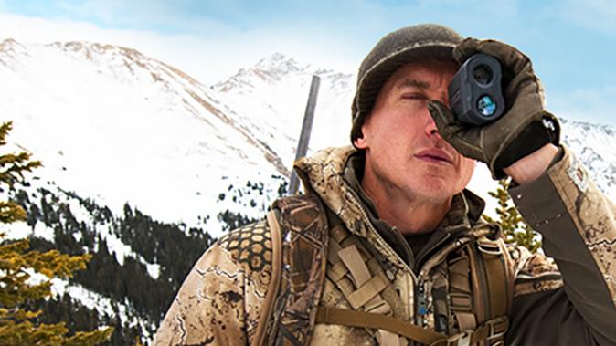 Nikon Monarch 3000 Stabilized rangefinder beauty shot