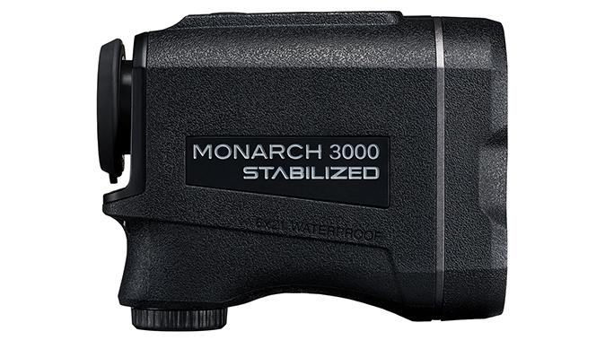 Nikon Monarch 3000 Stabilized rangefinder right profile