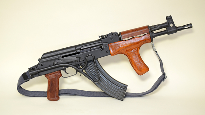 PM md 90 rifle stock folded right profile