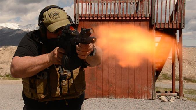 PWS MK107 Mod 2 rifle test