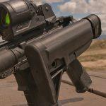 PWS MK107 Mod 2 rifle folded stock