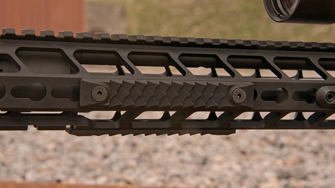 PWS MK107 Mod 2 rifle rail scales