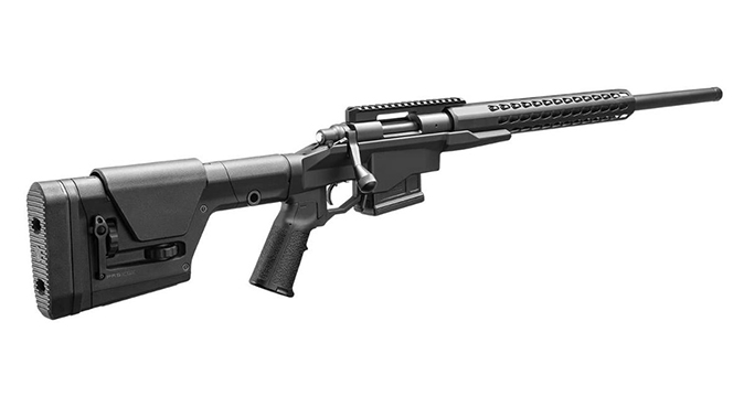 Remington Model 700 PCR rifle rear angle